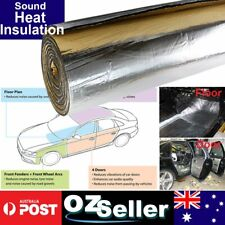 10MM Vehicle Cars Insulation Sound Heat Deadener Thermal Reduction Hood Floors