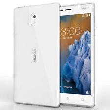 Ultra Slim Case For Nokia 3 - Flexi TPU Silicone Gel Best Grip Back Phone Cover