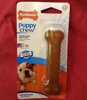 Nylabone puppy teething bone chew dental Regular Chicken Flavour up to 11kg