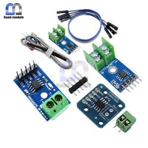 K Type MAX6675/MAX31855 Thermocouple Sensor Module Breakout Temperature Cable