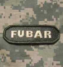 FUBAR TACTICAL INFIDEL ARMY MORALE ACU LIGHT VELCRO® BRAND FASTENER PATCH