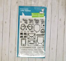 Lawn Fawn LOVE LETTERS clear stamp set
