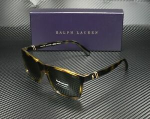 RALPH LAUREN POLO PH4133 500371 Havana Green 59 mm Men's Sunglasses