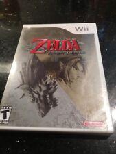 The Legend of Zelda Twilight Princess Nintendo Wii 2006 Brand New First Print