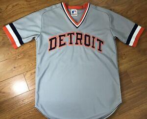 Vintage Detroit Tigers Kirk Gibson Jersey MLB Baseball Raven's Knit Canada