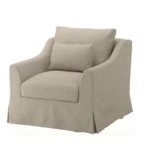 IKEA FARLOV CHAIR COVER Armchair Flodafors BEIGE 903.066.66 NEW NIP