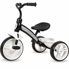 Kinderdreirad ab 2 Jahre Kinder Dreirad Roller Fahrrad Jungen Mädchen Schwarz