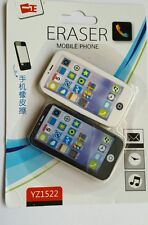 PACK OF 2 NEW NOVELTY BLACK & WHITE IPOD IPHONE ERASER PARTY LOOT BAG FILLERS