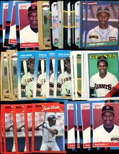Jose Uribe Bulk Lot Of 100 Baseball Cards Giants Dominican Republic
