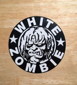 White Zombie Sticker