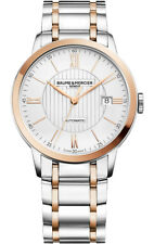 Brand New Baume et Mercier Classima 10217 Two-tone 40mm Men's Watch