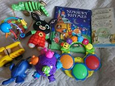 Baby Toddler Toy Bundle including chuckle ball