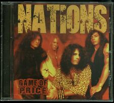 Nations Game Of Price CD new Indie Hair Metal reissue