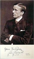 1905 Composer-Actor-Writer GEORGE GROSSMITH Hand SIGNED AUTOGRAPH + PHOTO + MAT