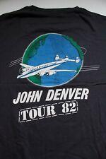 John Denver 1982 Tour Shirt Original Rare Screen Stars Not Reprint Vintage Folk