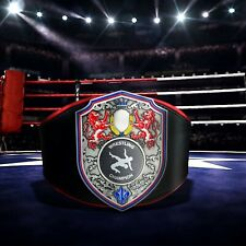 Junior Youth REGAL Personalised Leather Championship Wrestling Boxing Belt Gift