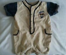 Vintage Taz Baby Baseball Jumper Warner Bros Studio Jr. Bunters 24 Months 1990's