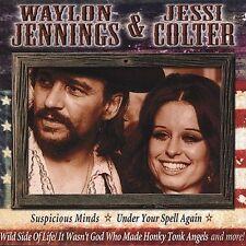 WAYLON JENNINGS & JESSI COLTER Suspicious Minds Storms Never Last NEW CD