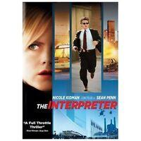 The Interpreter (DVD, 2005, Widescreen)    NEW!   FREE SHIPPING!!