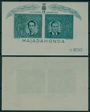Romania 1941 MER. blocco 15 ** Majadahonda, Vasile Marin, Ion Mota, IRON GUARD