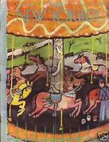 1956 New Yorker April 21 - Painting Carousel Horses