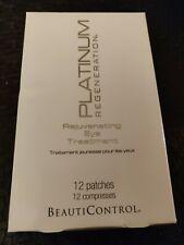 BeautiControl Platinum Regeneration Rejuvenating Eye Treatment 12 Patches