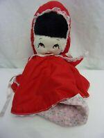 Little Red Riding Hood Wolf Grandma 3in1 Plush Stuffed Animal Toy Boys Vintage
