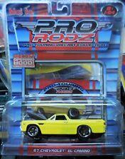 2006 Maisto All Stars Pro Rodz 1967 Chevy El Camino Yellow Combine Shipping