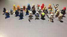 LEGO MINI FIGURE LOT OF 31•Ninjago•Star Wars Etc..