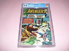 Avengers #18 CGC 9.0 w/ OW/W pages 1965! Marvel Comics not CBCS 0286573002