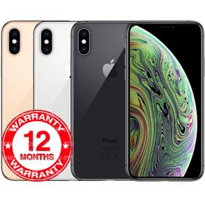 Brand New Apple iPhone XS Max 256GB 64gb Unlocked Original Mobile Phone Face ID