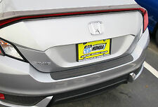REAR BUMPER SURFACE PROTECTOR COVER FITS 2017 2018 17 18 HONDA CIVIC 2 DR COUPE