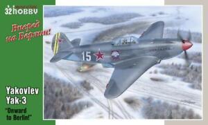 "Special Hobby Models 1/32 YAKOVLEV Yak-3 Fighter ""Onward to Berlin!"""