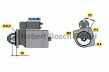 Starter - Bosch 0 001 109 306
