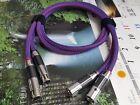 1Pair Furutech FAS22 XLR Audio Cable Occ Copper Balance Interconnect