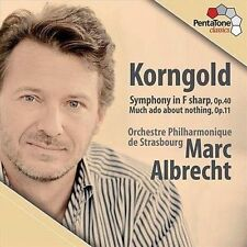 Korngold: Symphony in F/ Much Ado About Nothing Suite, New Music