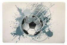 Schreibtischunterlage Ball Fußball grau weiß 40 x 60 cm abwischbar WM neu Bälle