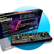 Numark DJ2GO2 Ultra-portabler 2-Kanal DJ Controller Audio Interface Crossfader