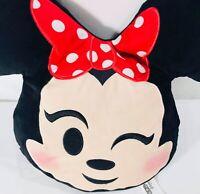 Minnie Mouse Emoji Pillow Winking Minnie Plush Stuffed Animal Toy