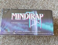 Mind Trap Game sealed vtg 1991 Original 1st Edition