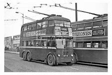 pt7821 - London Trolleybus no 84 at Station Road , West Croydon - photograph 6x4