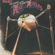 HIGHLIGHTS FROM 'THE WAR OF THE WORLDS' - DAVID ESSEX ETC.- SOUNDTRACK CD