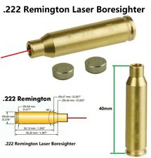 .222 Remington Laser Cartridge Bore Sighter Boresight Sight Battery Included
