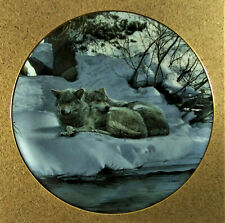The Good Place Plate Wolf Encounters: A Masters Collection #4 Terry Isaac Wolves