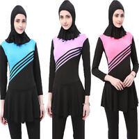 Muslim Swimwear Women Swimsuit Full Cover Islamic Beachwear Burkini Modesty Suit