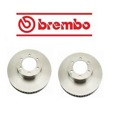 Fits Lexus GX470 Toyota 4Runner Set Of 2 Front Disc Brake Rotors Brembo 09A20410