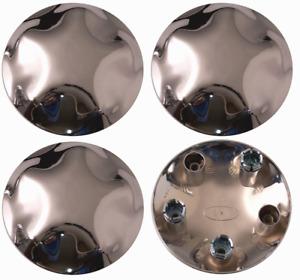 "4pcs 1997-2004 Ford Expedition F150 17"" Chrome Wheel Center Hub Caps Lug  Covers"