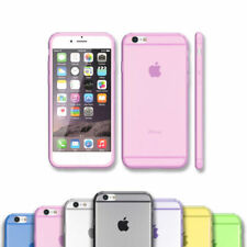 Funda Cover Colores calidad Ultrafina Tpu Gel Silicona Para Iphone 6 / 6S 4,7""