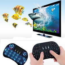 Mini i8 Gaming Keyboard Wireless Backlit Touchpad Mouse for PC/Ipad/TV Box Small
