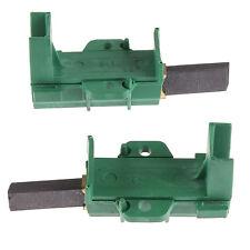 For Beko WMA727W, WMA745S, WMA745W Washing Machine Carbon Brush & Holder Pair